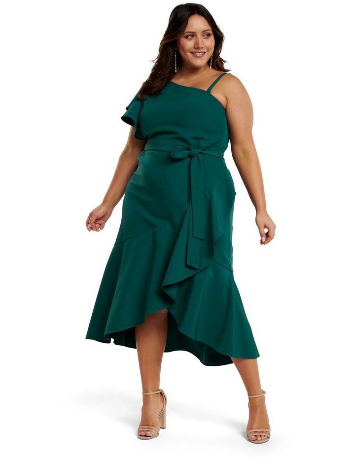 Olivia Asym One-Shoulder Curve Dress image 1