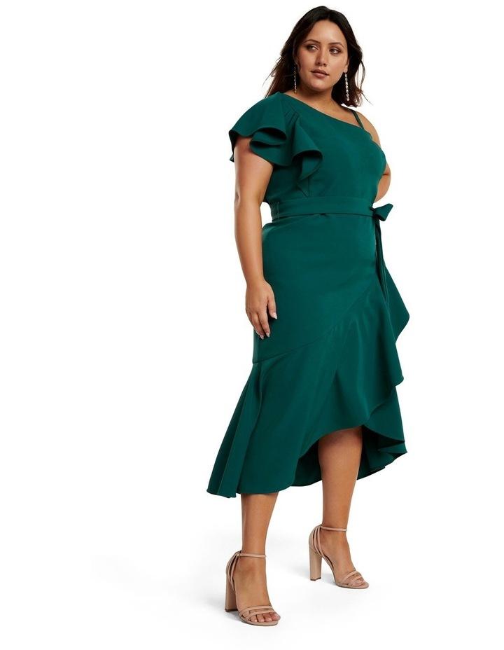 Olivia Asym One-Shoulder Curve Dress image 2