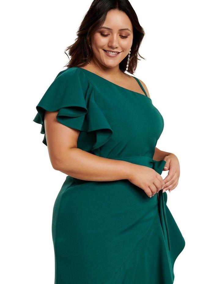 Olivia Asym One-Shoulder Curve Dress image 3