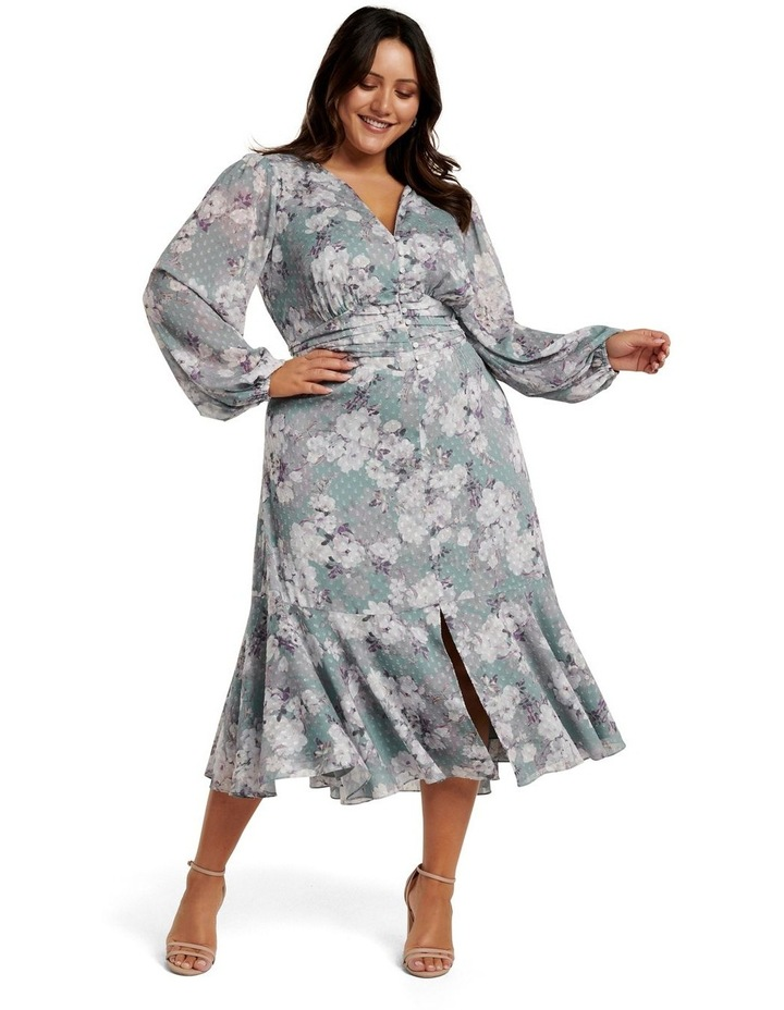 Renee Dobby Midi Curve Dress image 1