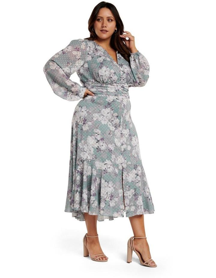 Renee Dobby Midi Curve Dress image 2