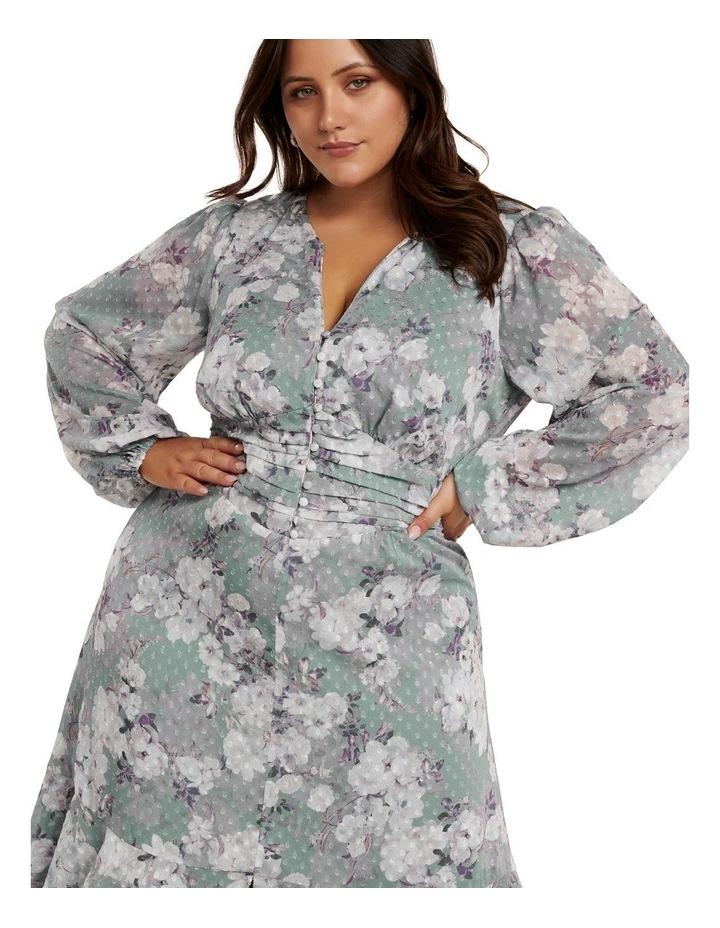 Renee Dobby Midi Curve Dress image 3