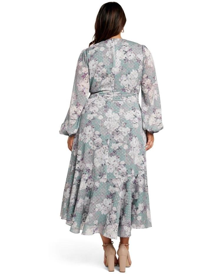 Renee Dobby Midi Curve Dress image 4