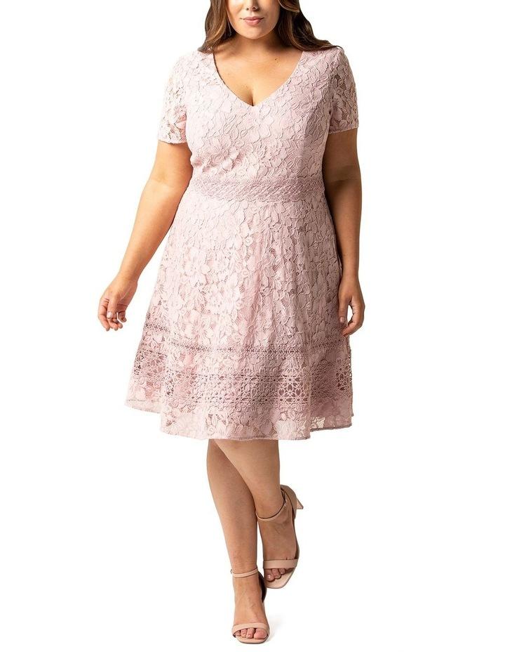 Selena Curve Lace Prom Dress image 1