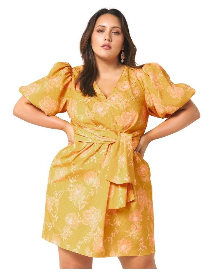 Esme Puff Sleeve Curve Dress image 1