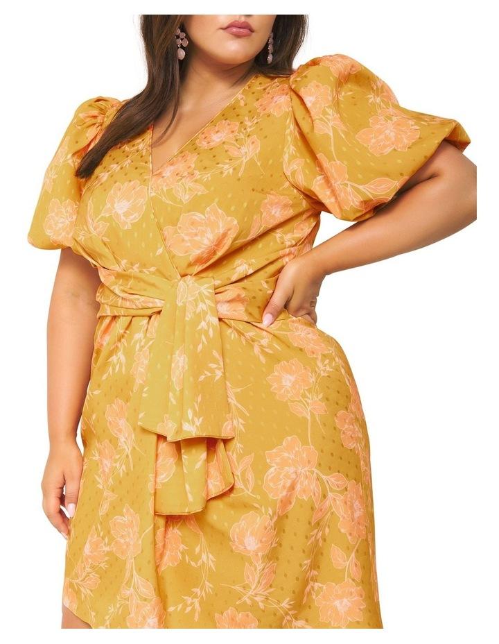 Esme Puff Sleeve Curve Dress image 2