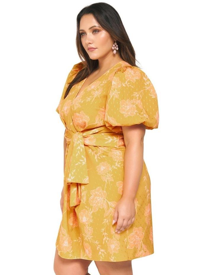 Esme Puff Sleeve Curve Dress image 3