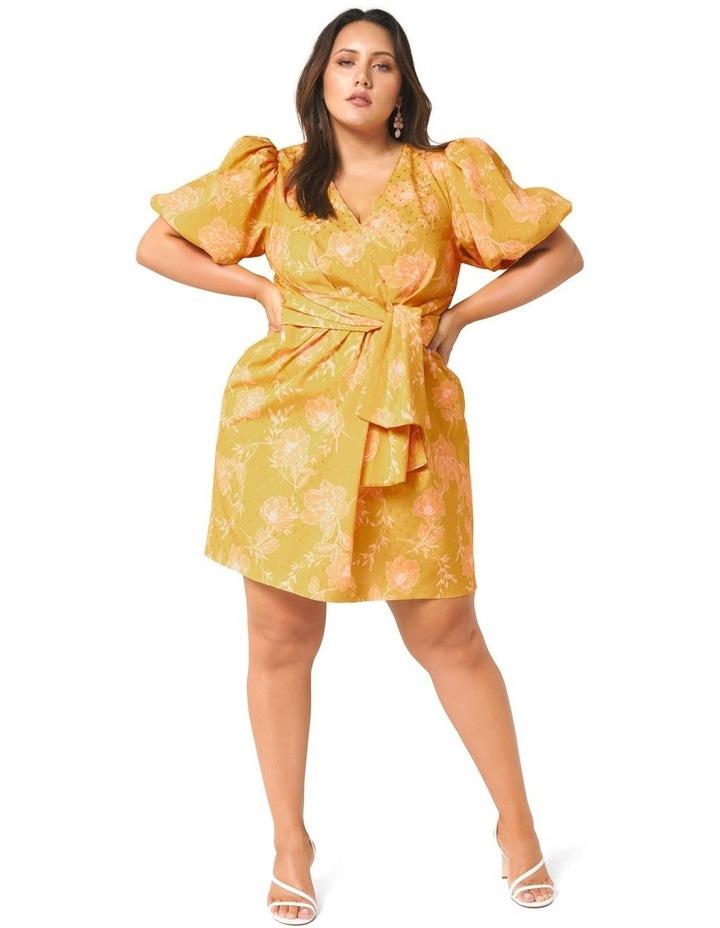Esme Puff Sleeve Curve Dress image 5