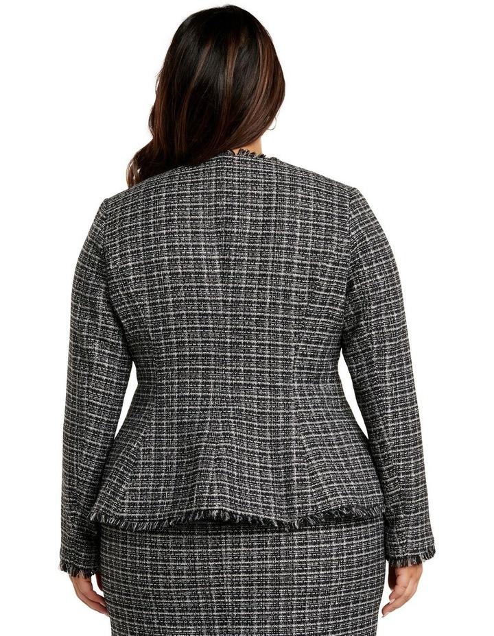 Amy Boucle Edge to Edge Curve Jacket image 4