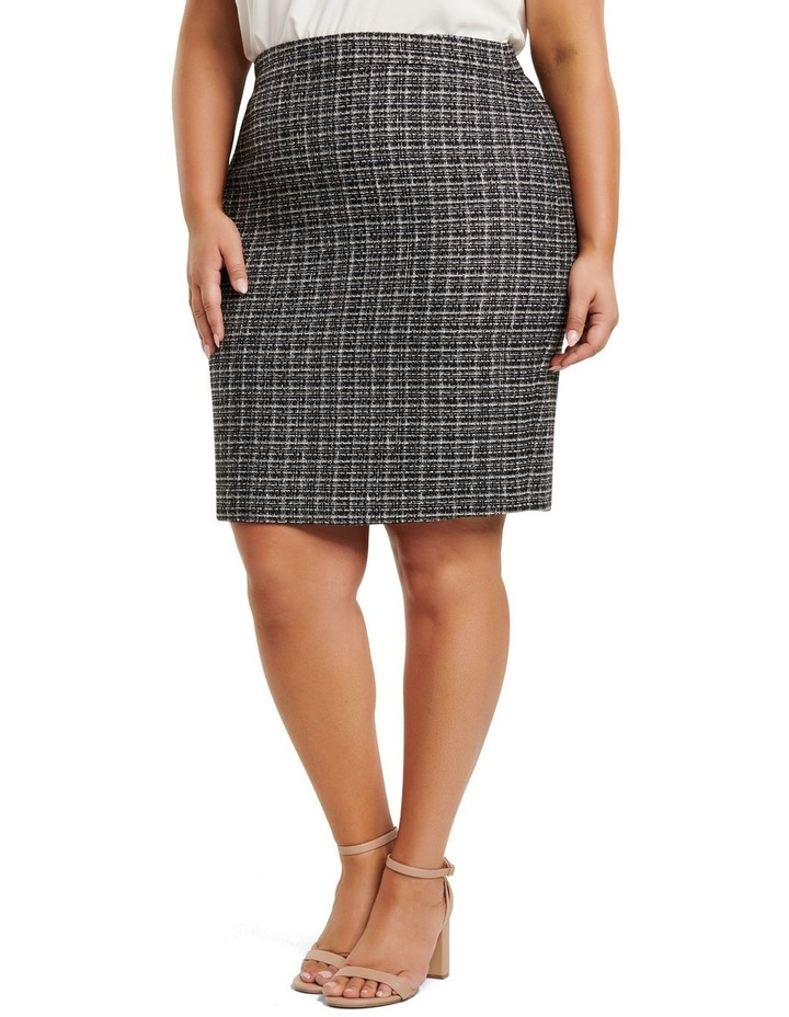 Amy Boucle Curve Pencil Skirt image 2