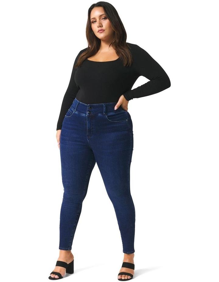 Monica Curve Full-Length Jeans image 1