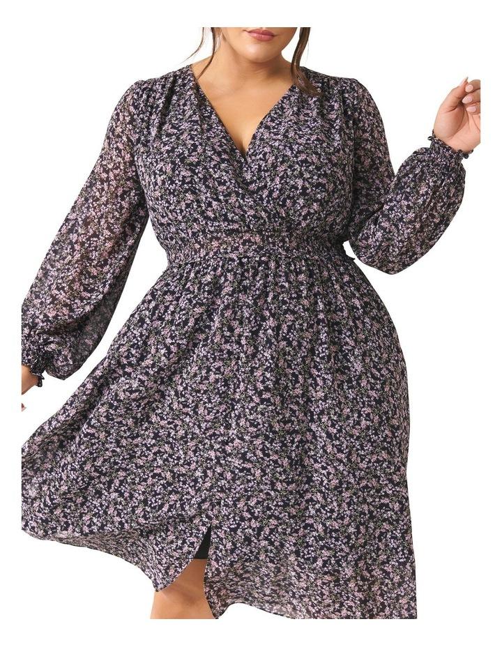 Heather Shirred Waist Curve Dress image 2