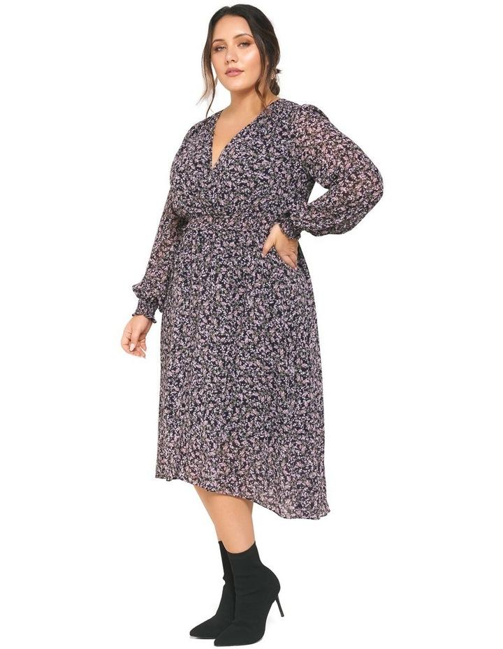 Heather Shirred Waist Curve Dress image 3
