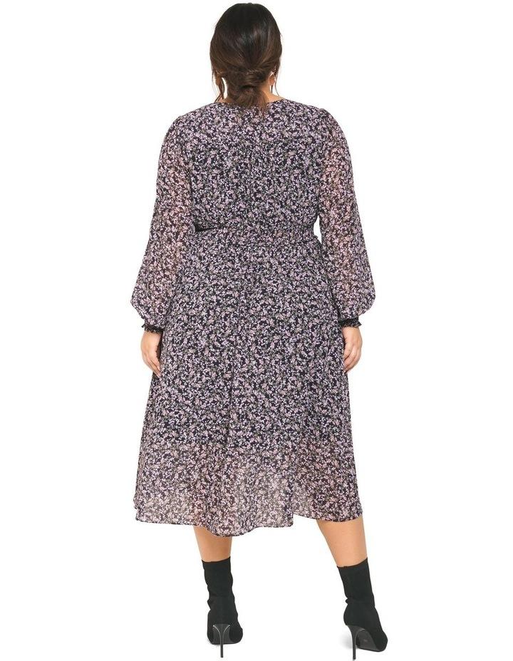 Heather Shirred Waist Curve Dress image 4