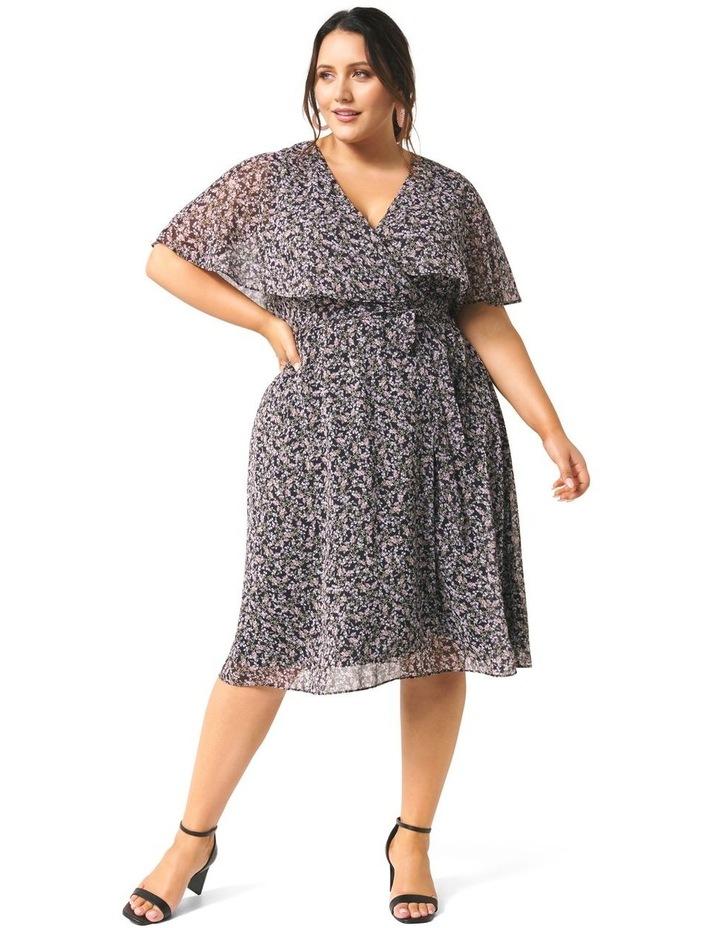 Katie Cape Curve Wrap Dress image 1