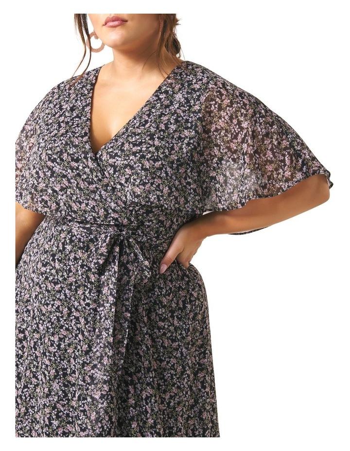 Katie Cape Curve Wrap Dress image 2