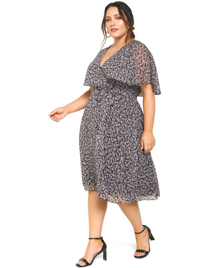 Katie Cape Curve Wrap Dress image 3