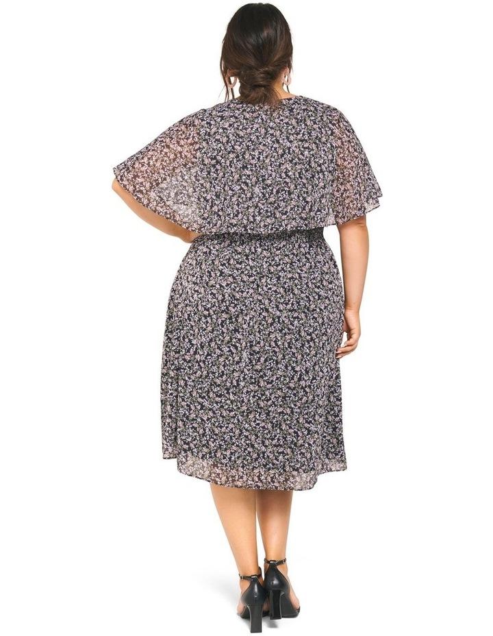 Katie Cape Curve Wrap Dress image 4