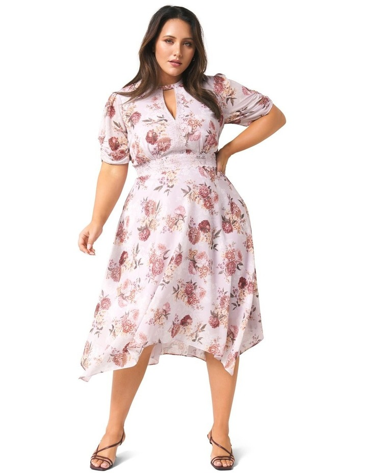 Penny Puff Sleeve Curve Dress image 1