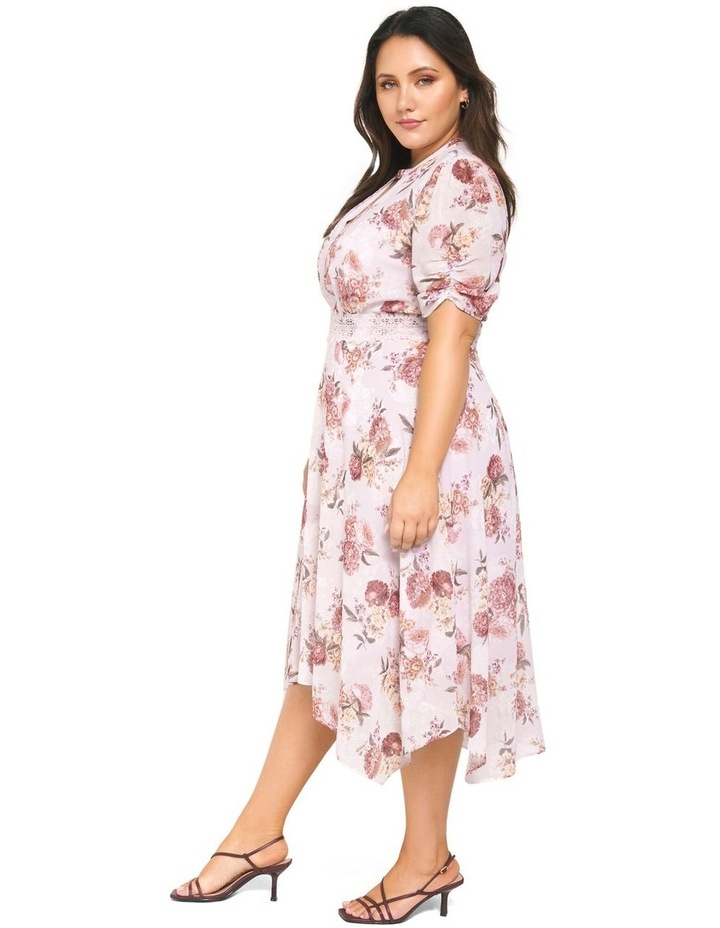 Penny Puff Sleeve Curve Dress image 2