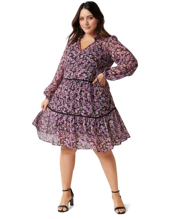 Teigan Tiered Curve Shift Dress image 1