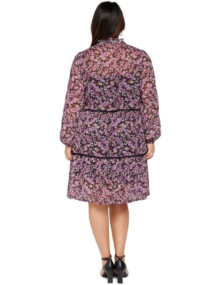 Teigan Tiered Curve Shift Dress image 4