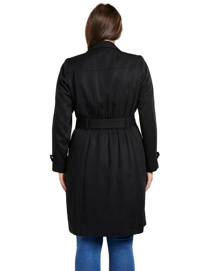 Lettie Soft Curve Trench Jacket image 4