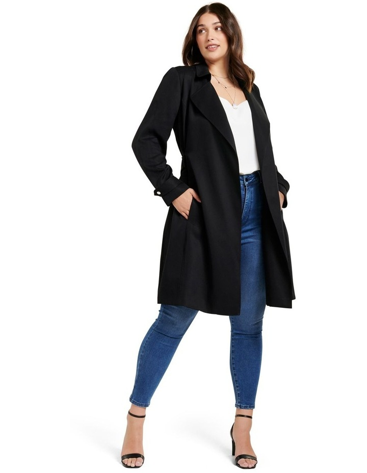 Lettie Soft Curve Trench Jacket image 5