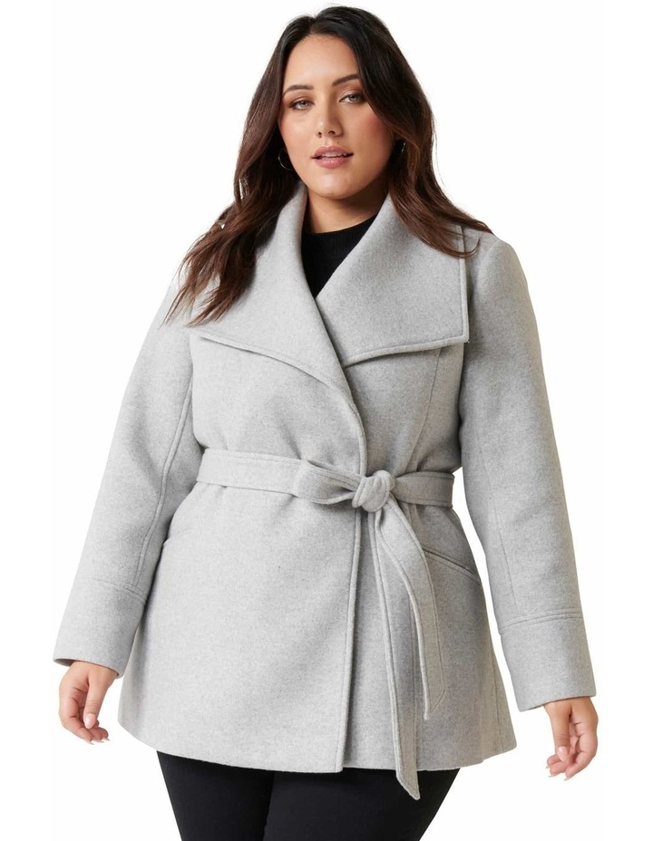 Tamika Curve Wrap Coat image 1