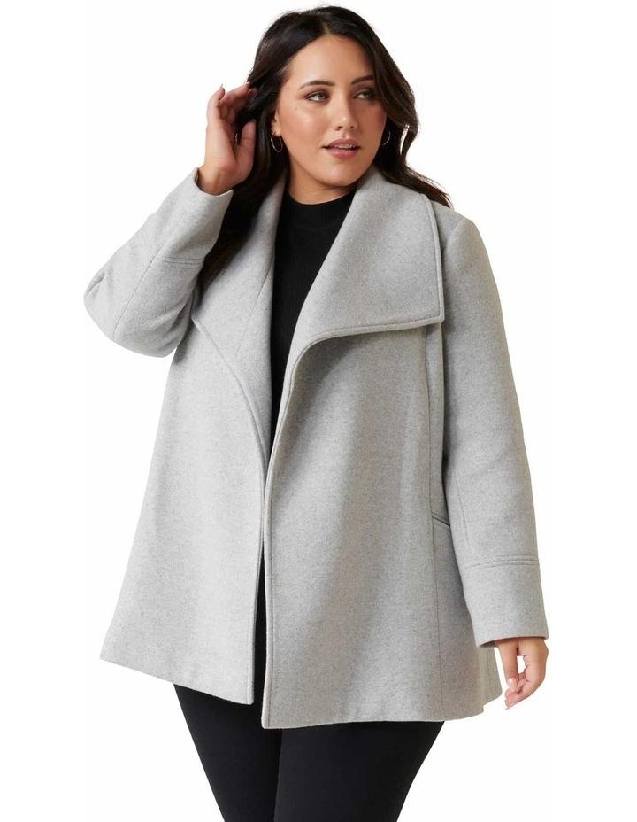 Tamika Curve Wrap Coat image 2