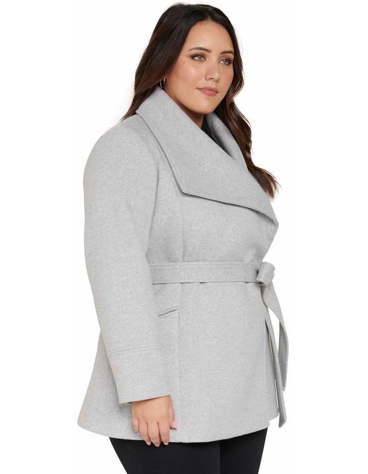 Tamika Curve Wrap Coat image 3