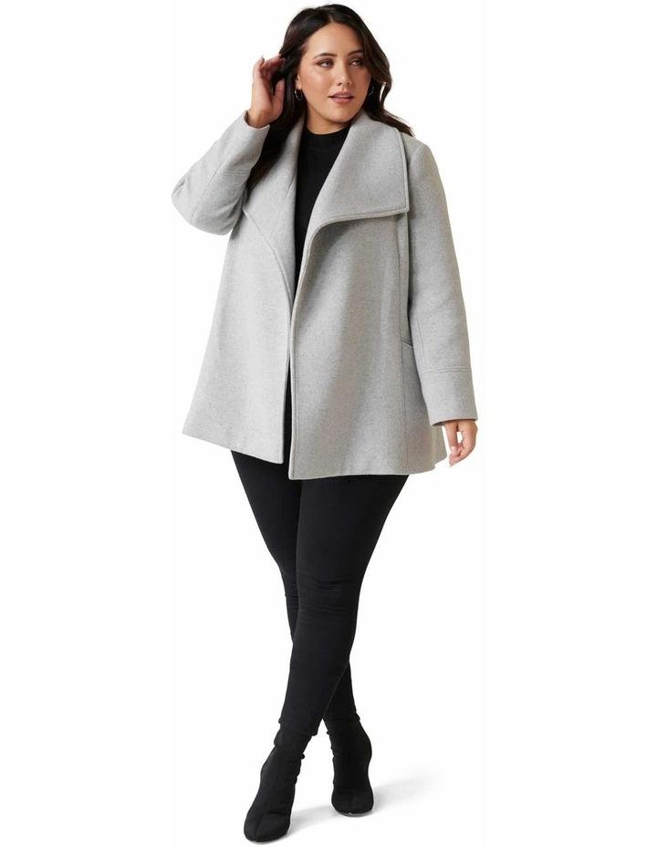 Tamika Curve Wrap Coat image 5