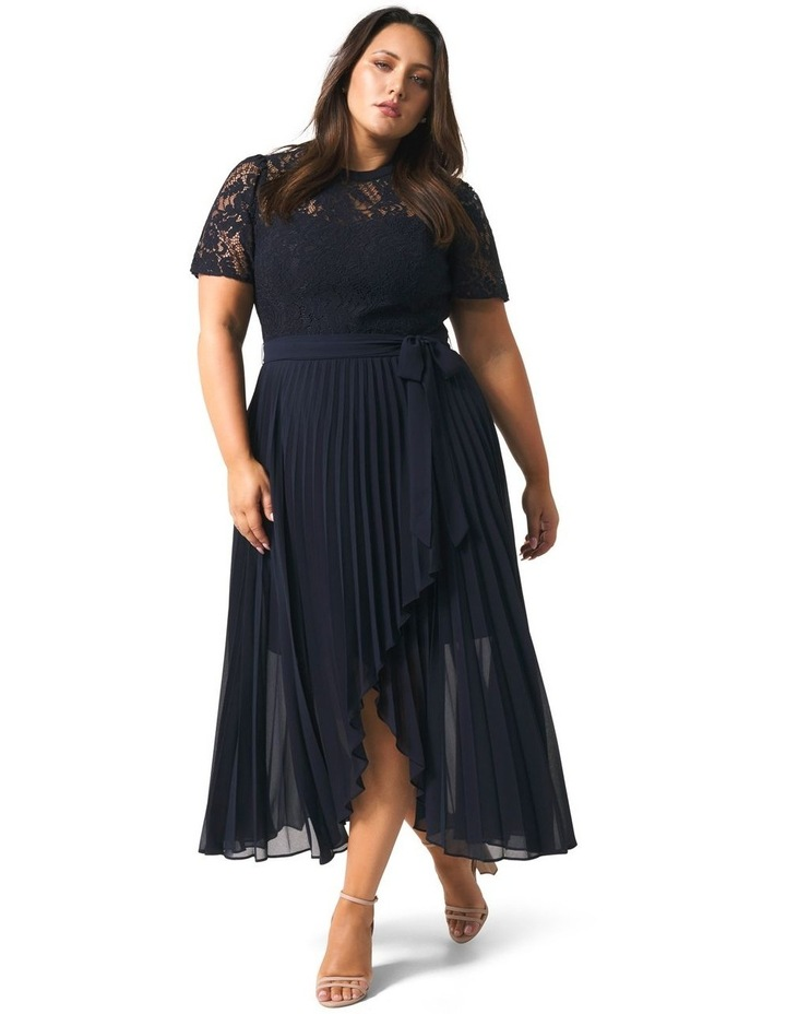 Saskia 2-In-1 Pleated Curve Dress image 1