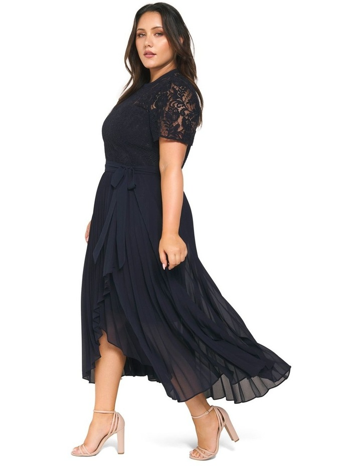 Saskia 2-In-1 Pleated Curve Dress image 3