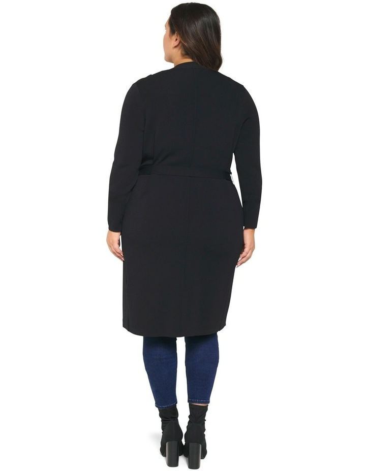 Lucy Panelled Long Curve Cardigan image 4