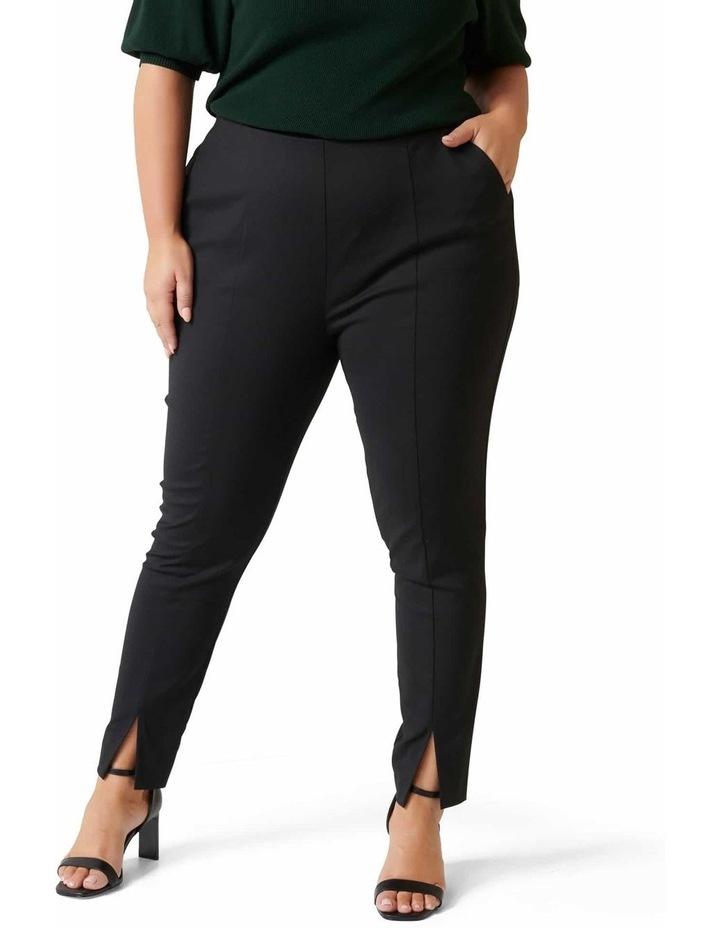 Claire Split Hem Curve Pants image 1