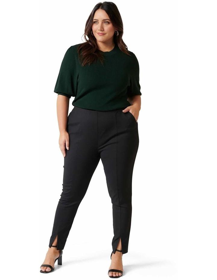 Claire Split Hem Curve Pants image 4