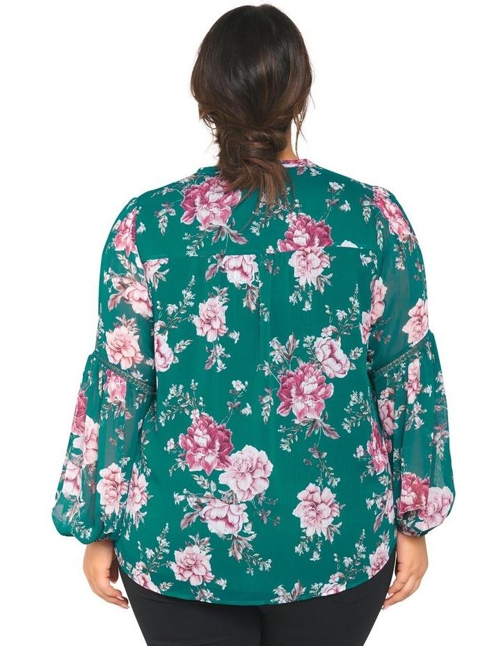 Melissa Button Up Curve Blouse image 3