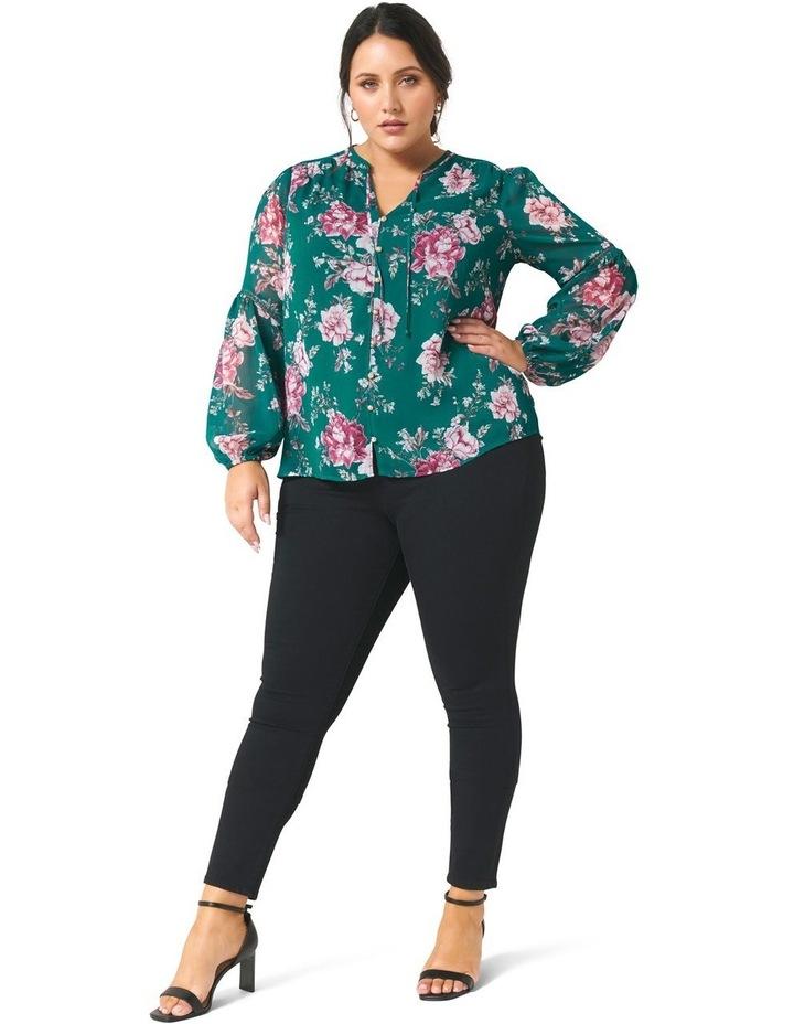 Melissa Button Up Curve Blouse image 4