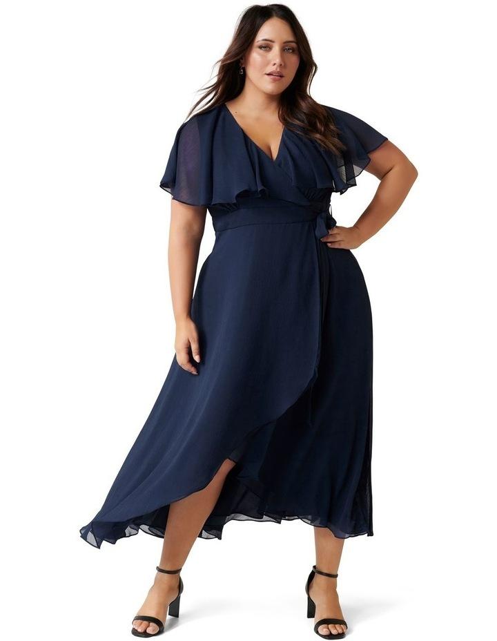 Bettina Curve Cape Maxi Dress image 1