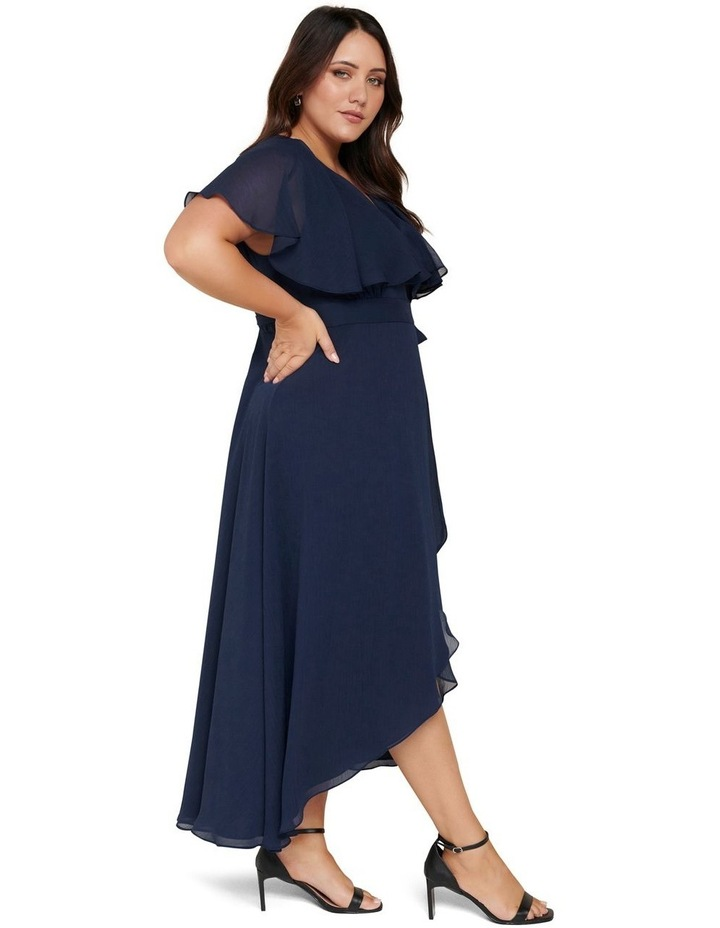 Bettina Curve Cape Maxi Dress image 3