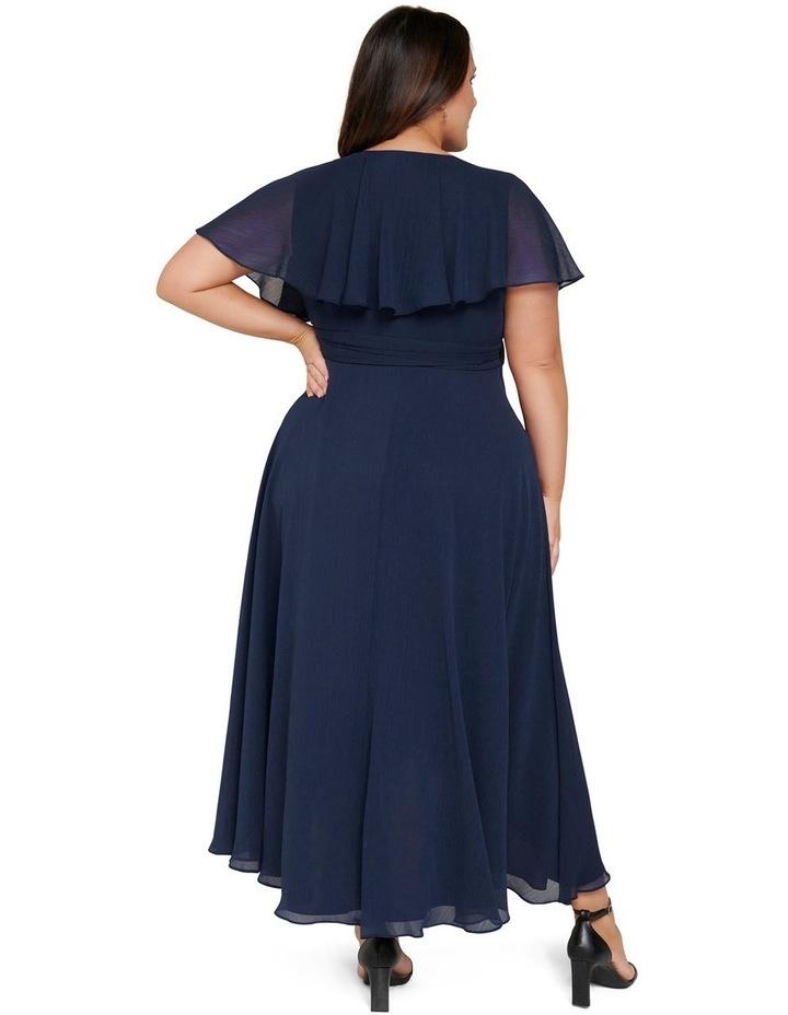 Bettina Curve Cape Maxi Dress image 4