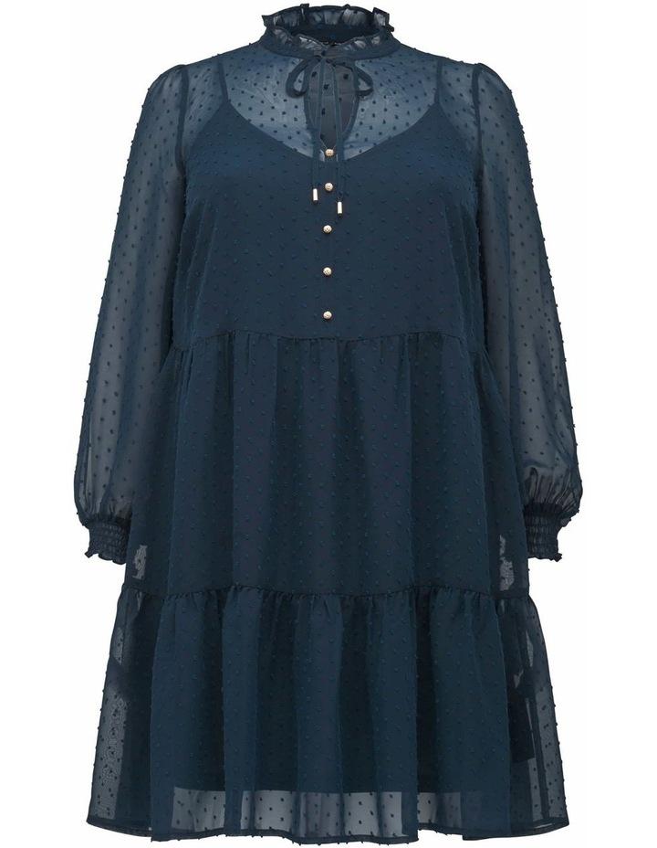 Teigan Dobby Curve  Shift Dress image 1