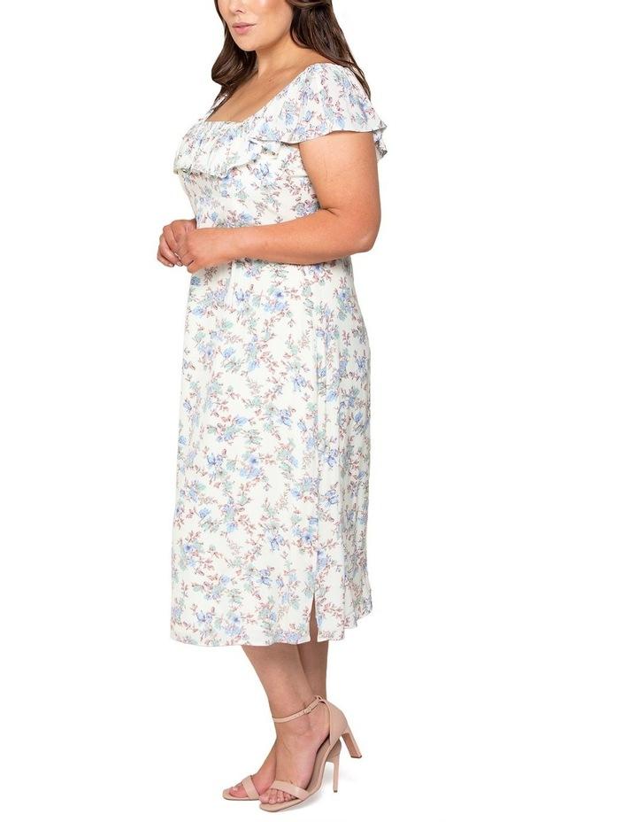 Ruby Curve Ruffle Square Neck Dress image 2