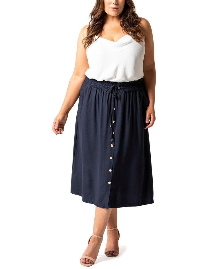Lucille Curve Elasticated Waist Skirt image 1