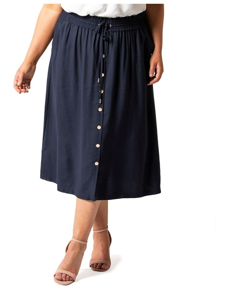 Lucille Curve Elasticated Waist Skirt image 2