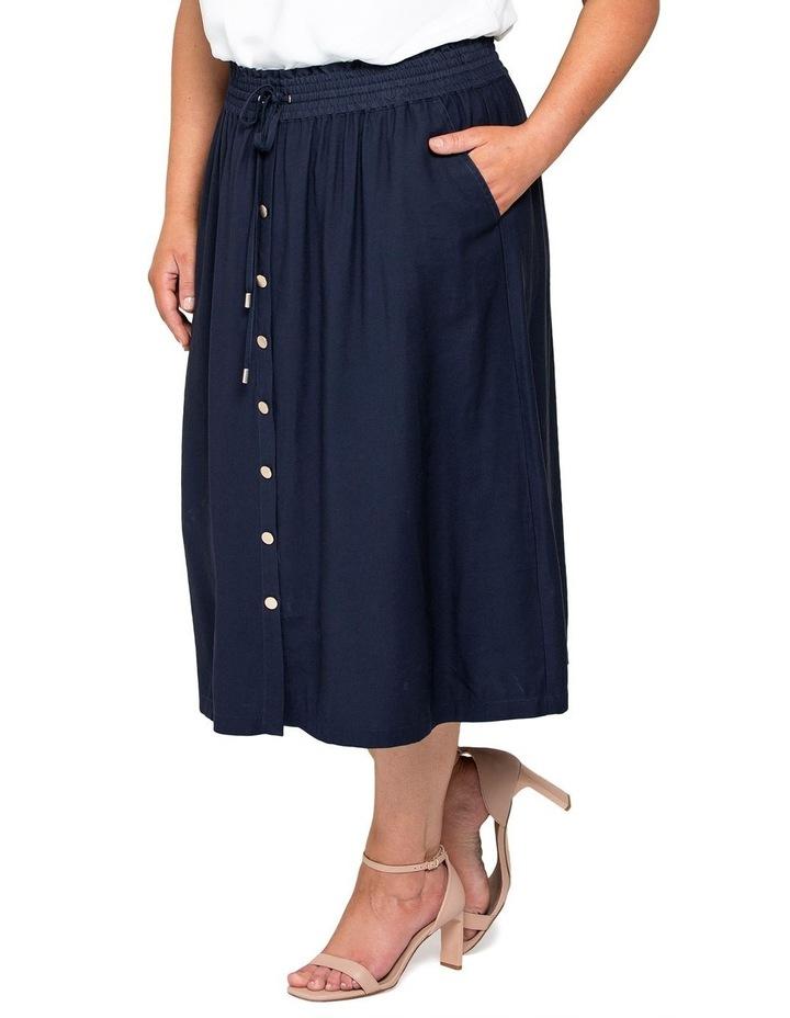 Lucille Curve Elasticated Waist Skirt image 3