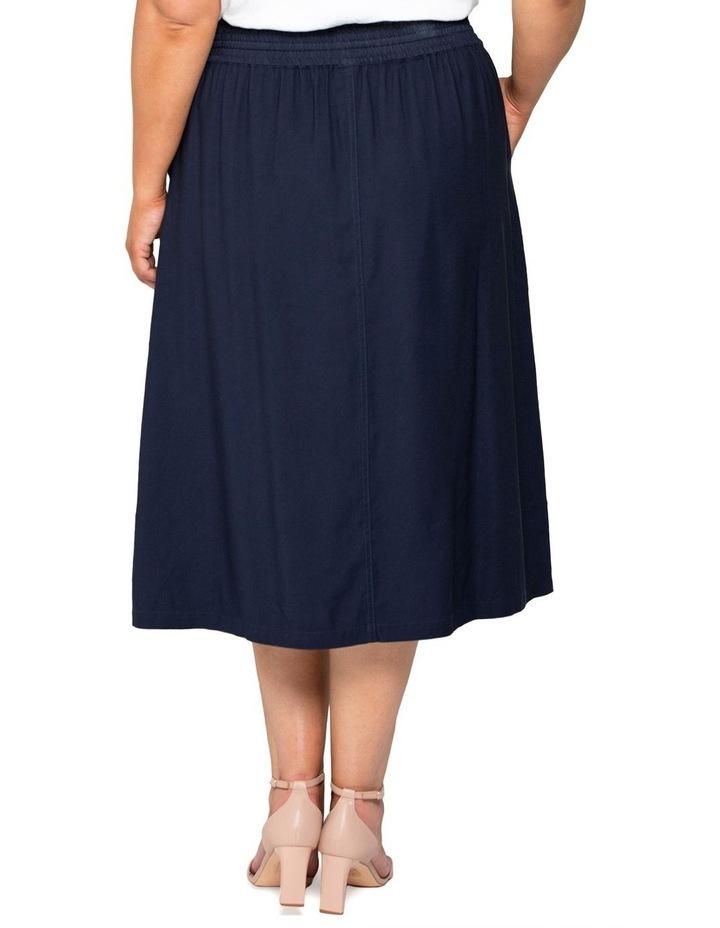 Lucille Curve Elasticated Waist Skirt image 4