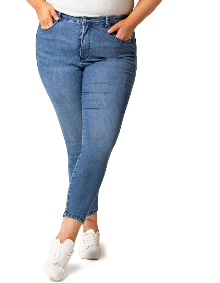 Belinda Curve High Rise Ankle Grazer Jeans image 2