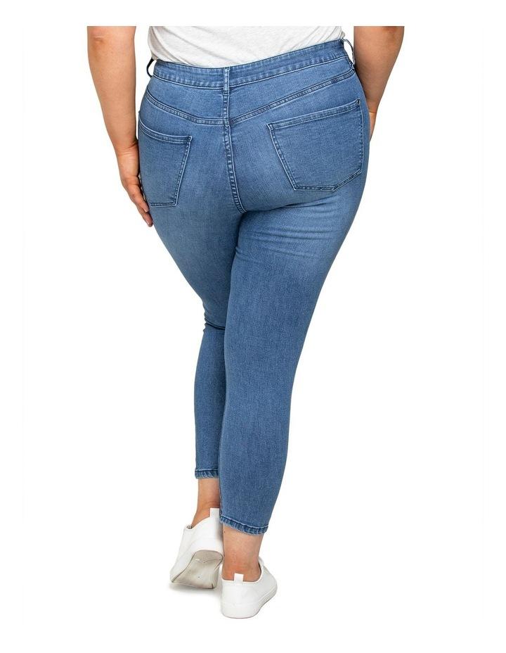 Belinda Curve High Rise Ankle Grazer Jeans image 4